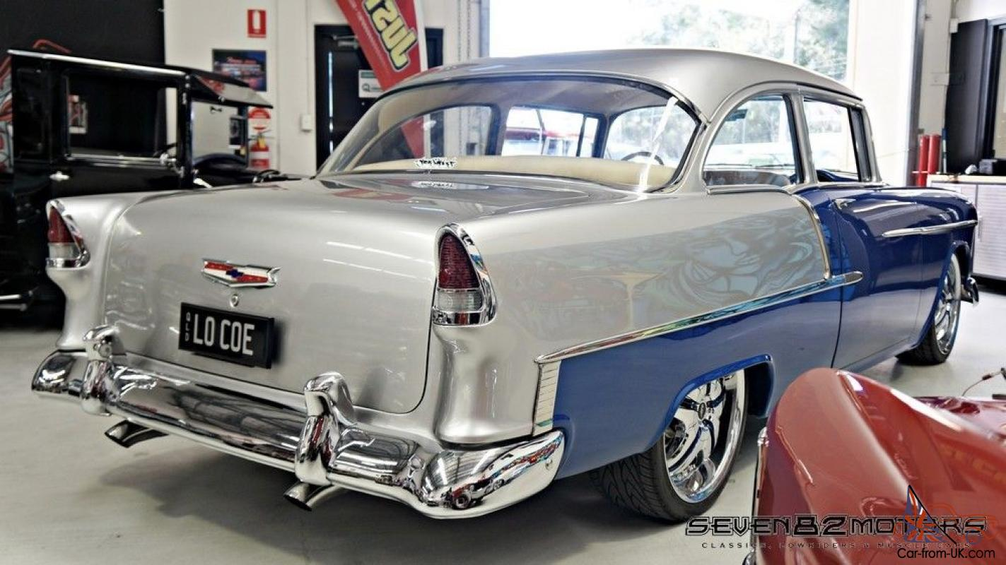 Chevy Custom 210 Suit 1957 Belair TRI Five Muscle CAR Show CAR in QLD