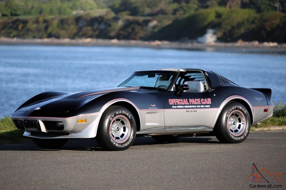 Chevrolet Corvette 25th Anniversary Pace Car