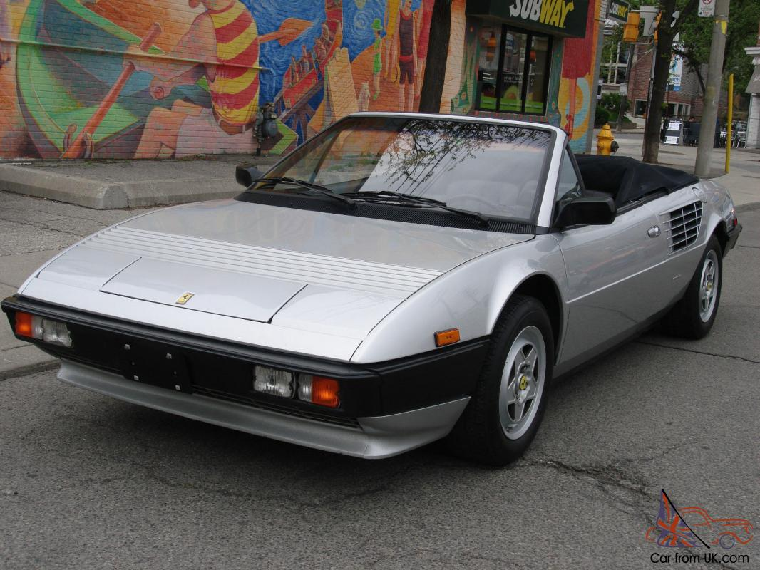 ferrari mondial mondial quattrovalvole convertible. Black Bedroom Furniture Sets. Home Design Ideas
