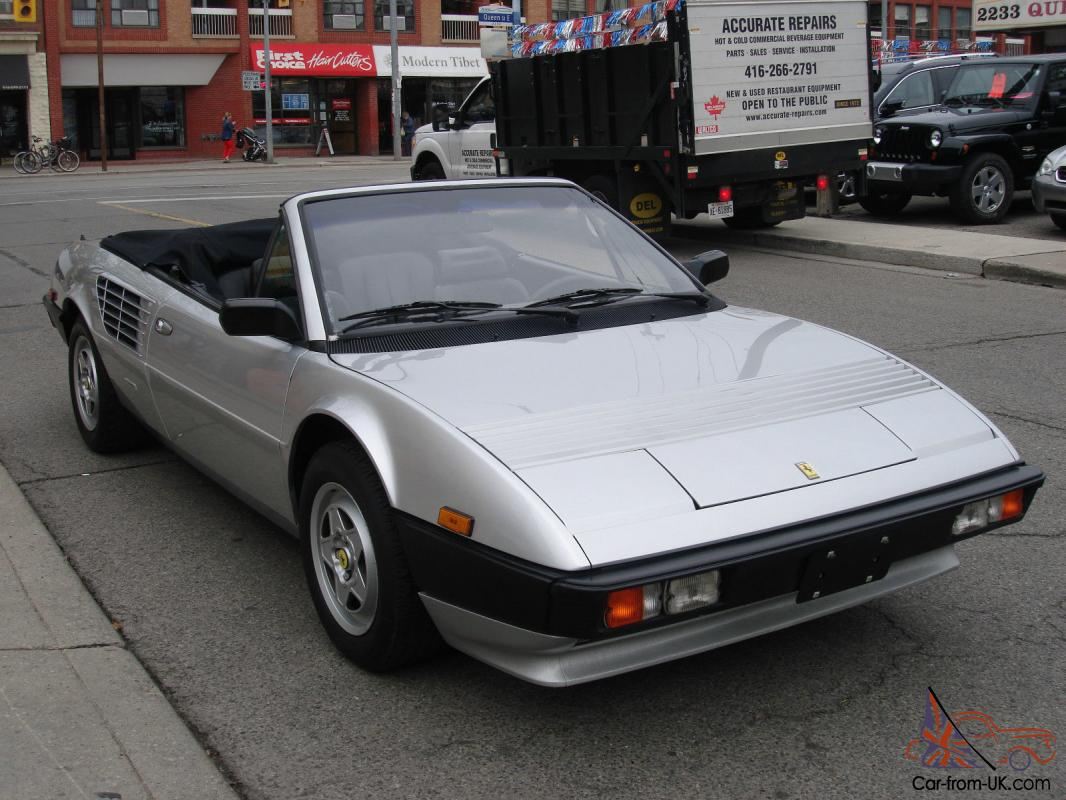 ferrari mondial quattrovalvole value 1985 ferrari mondial quattrovalvole auction results and. Black Bedroom Furniture Sets. Home Design Ideas
