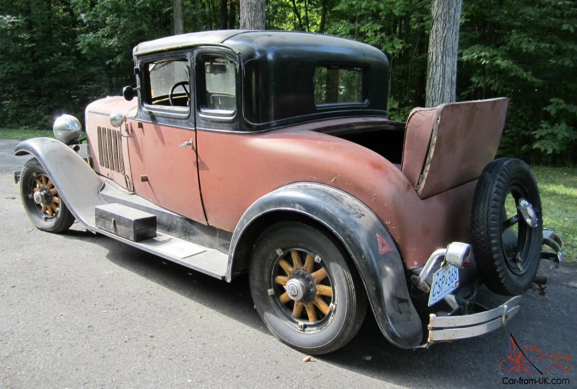 Other Makes Reo Flying Cloud 5 Window Coupe W Rumble Seat