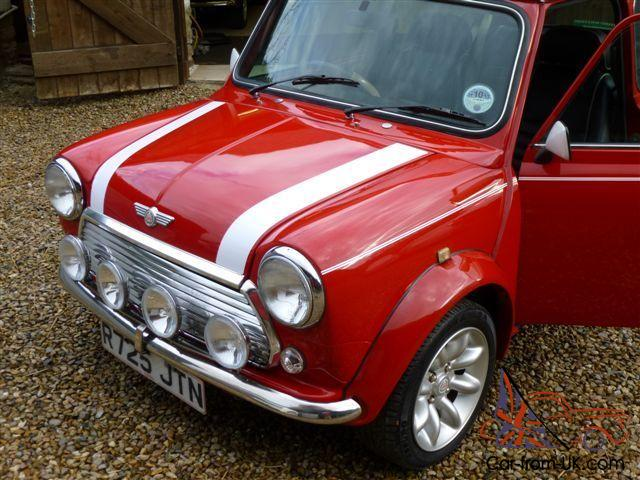 1997 rover mini cooper red. Black Bedroom Furniture Sets. Home Design Ideas
