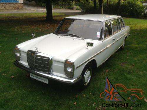 Mercedes benz w115 220 limousine 8 seat for Mercedes benz w115 for sale