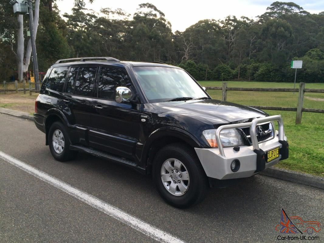 no reserve mitsubishi pajero exceed 4x4 2004 automatic 3 8l lpg gas black in nsw. Black Bedroom Furniture Sets. Home Design Ideas