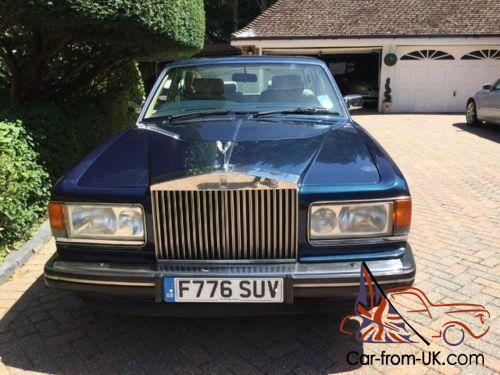 Other Makes Limousine 1980 For Sale 1980 Gaz 14: ROLLS ROYCE Silver Spirit Mk2