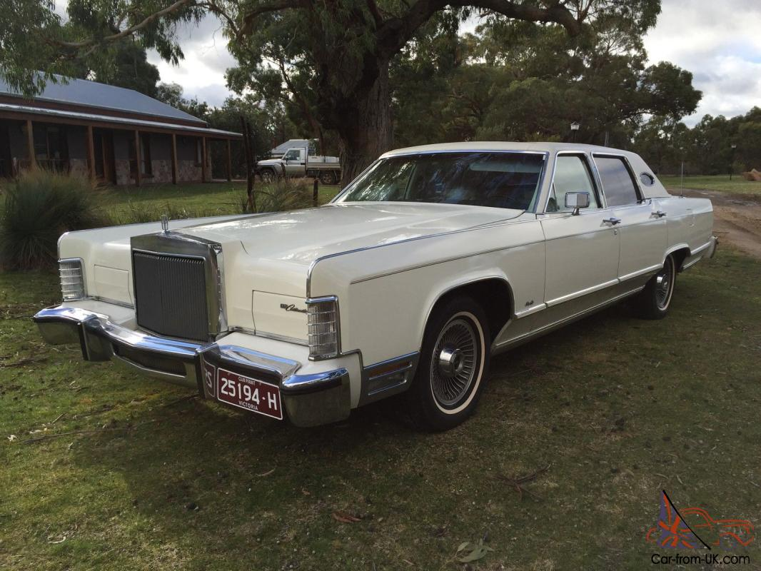 1977 lincoln continental town car. Black Bedroom Furniture Sets. Home Design Ideas