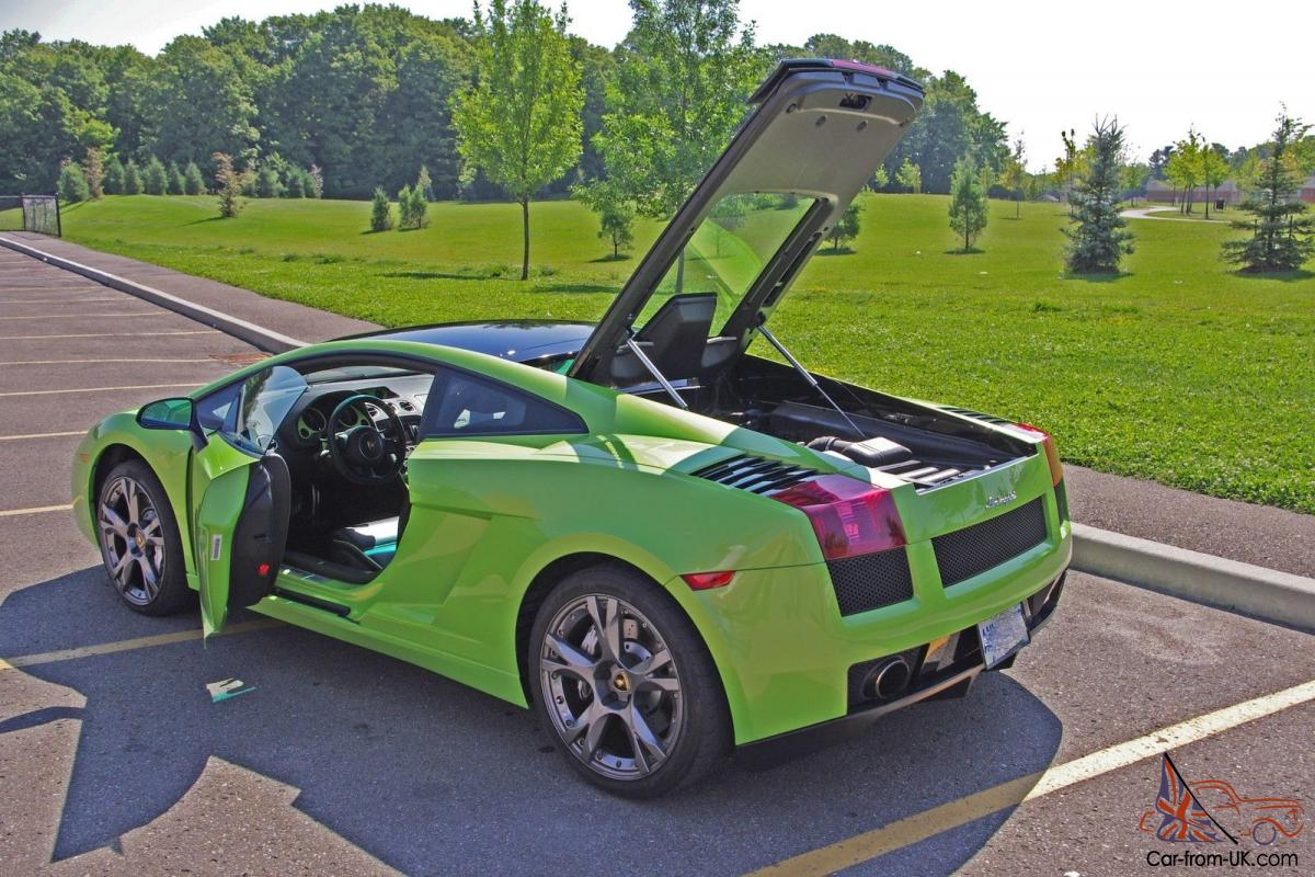 lamborghini : gallardo se coupe 2-door