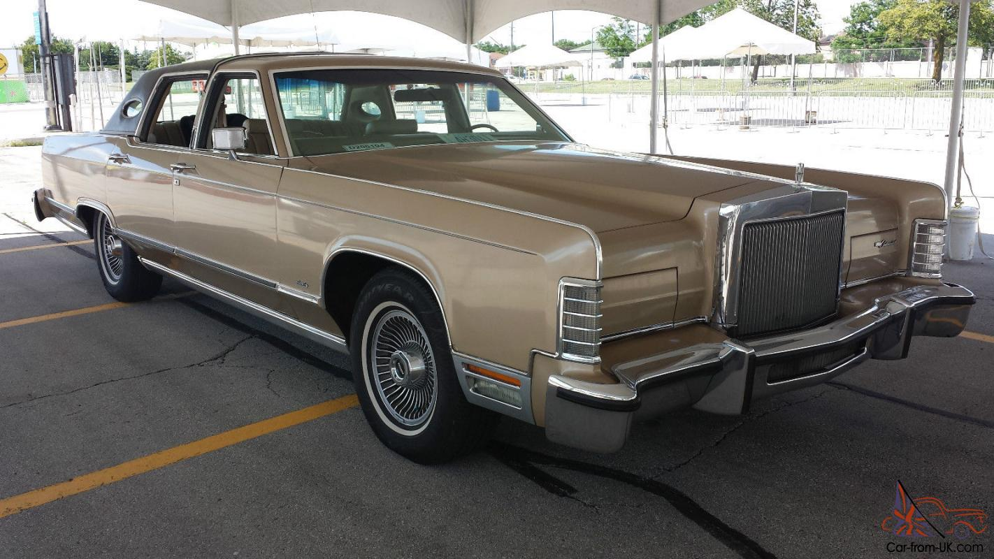 lincoln continental town car. Black Bedroom Furniture Sets. Home Design Ideas