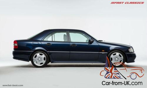 mercedes benz c36 amg azurite blue 1995. Black Bedroom Furniture Sets. Home Design Ideas