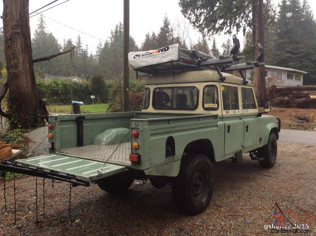 Land Rover Defender 130 With High Capacity Pick Up Box