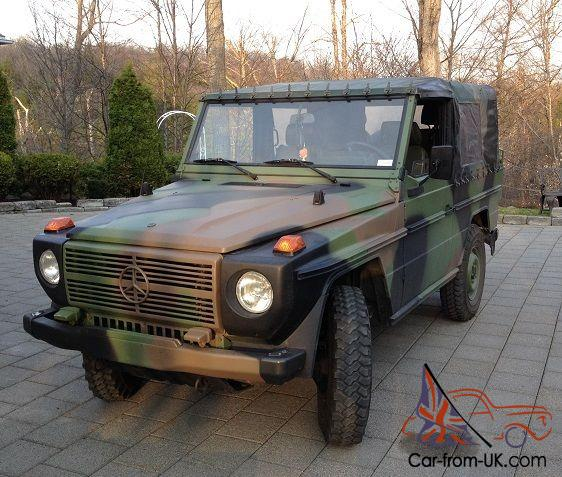 Army Vehicles For Sale >> Mercedes-Benz : G-Class WOLF