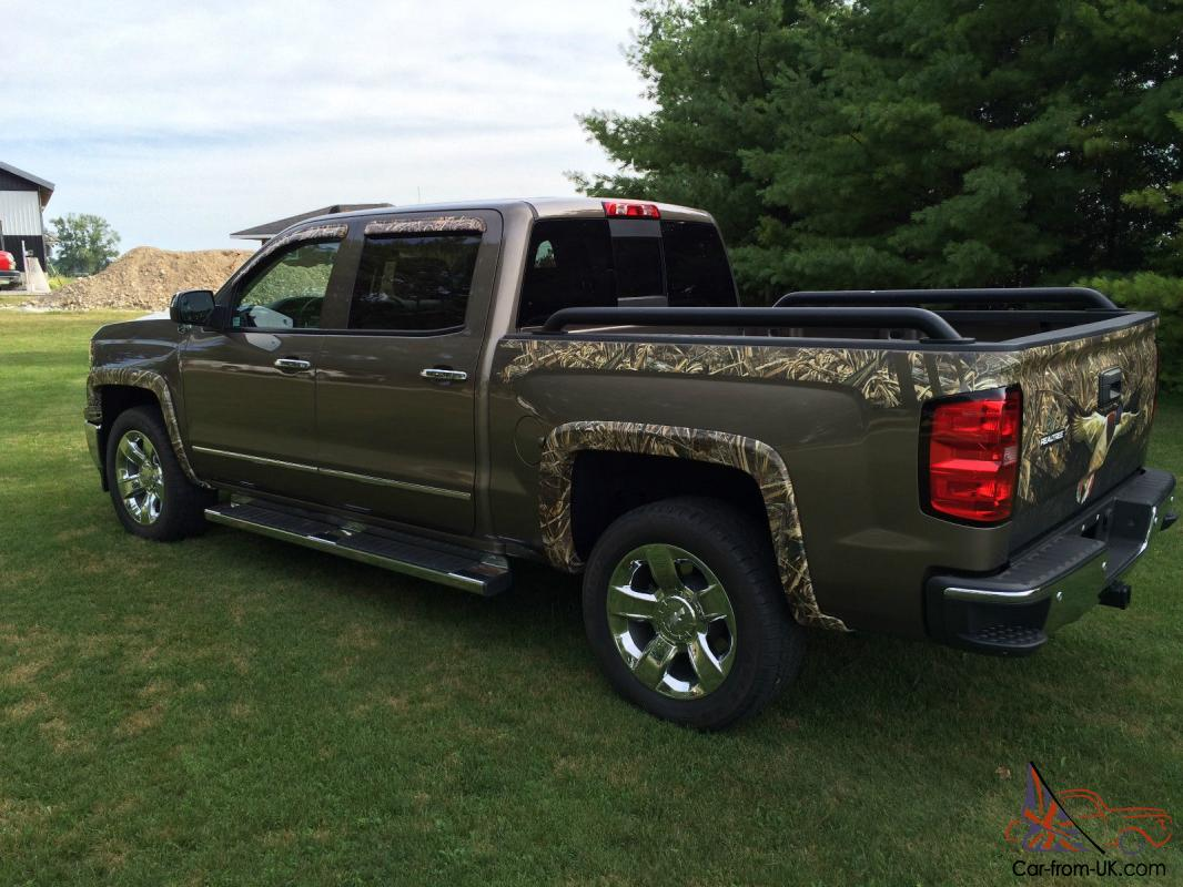 "Silverado Realtree Edition >> Chevrolet : Silverado 1500 LTZ ""DUCK COMMANDER EDITION"""