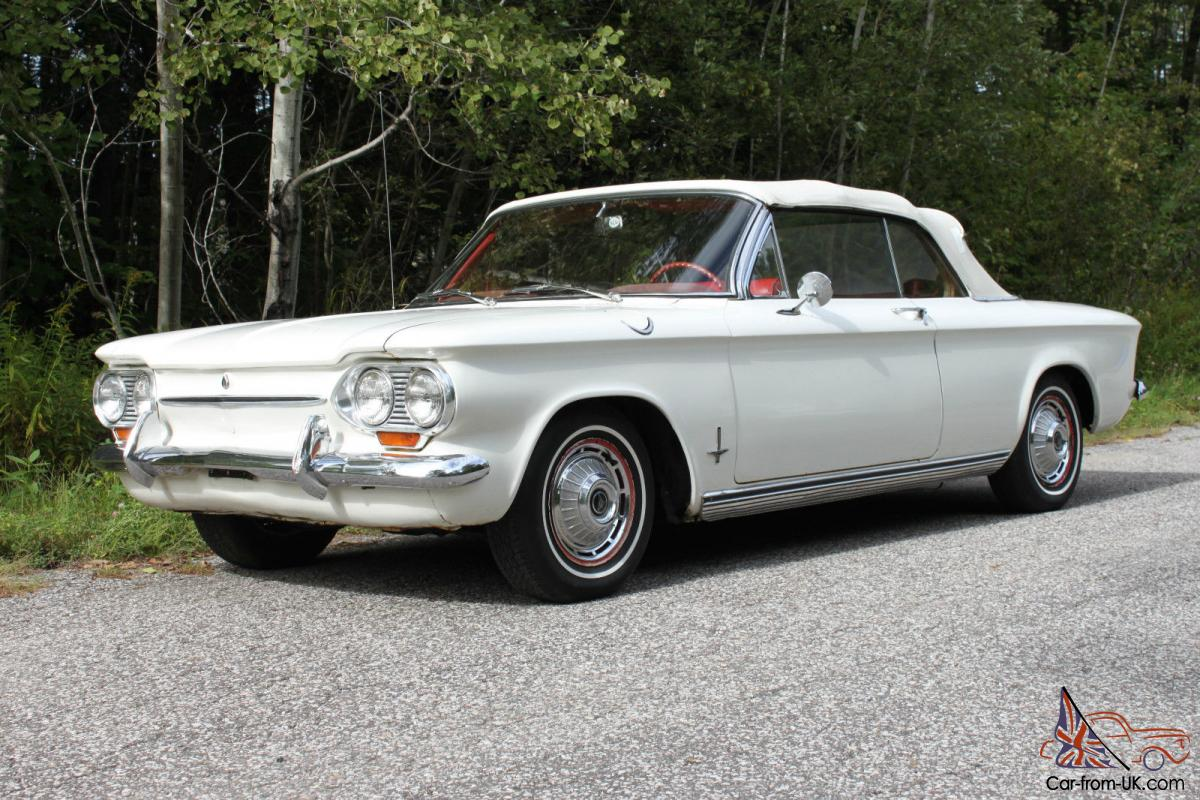 chevrolet : corvair monza convertible