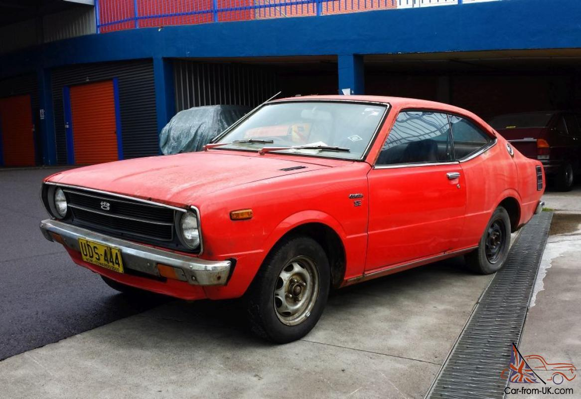 1977 toyota corolla se ke35 3k coupe project manual with rare aircon in nsw. Black Bedroom Furniture Sets. Home Design Ideas