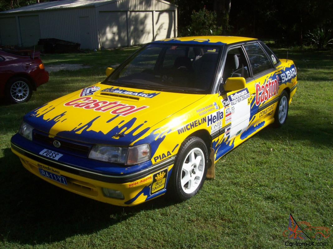 Liberty Legacy RS Turbo 1989 Replica Possum Bourne Rally CAR in NSW