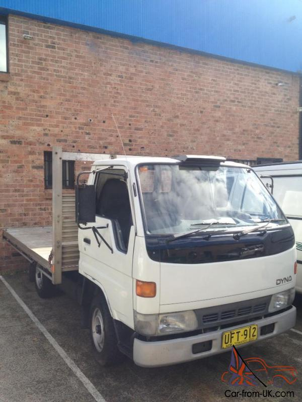Toyota Dyna 100 1996 Cab Chassis 5 Sp Manual 1 8l Carb Or Swap