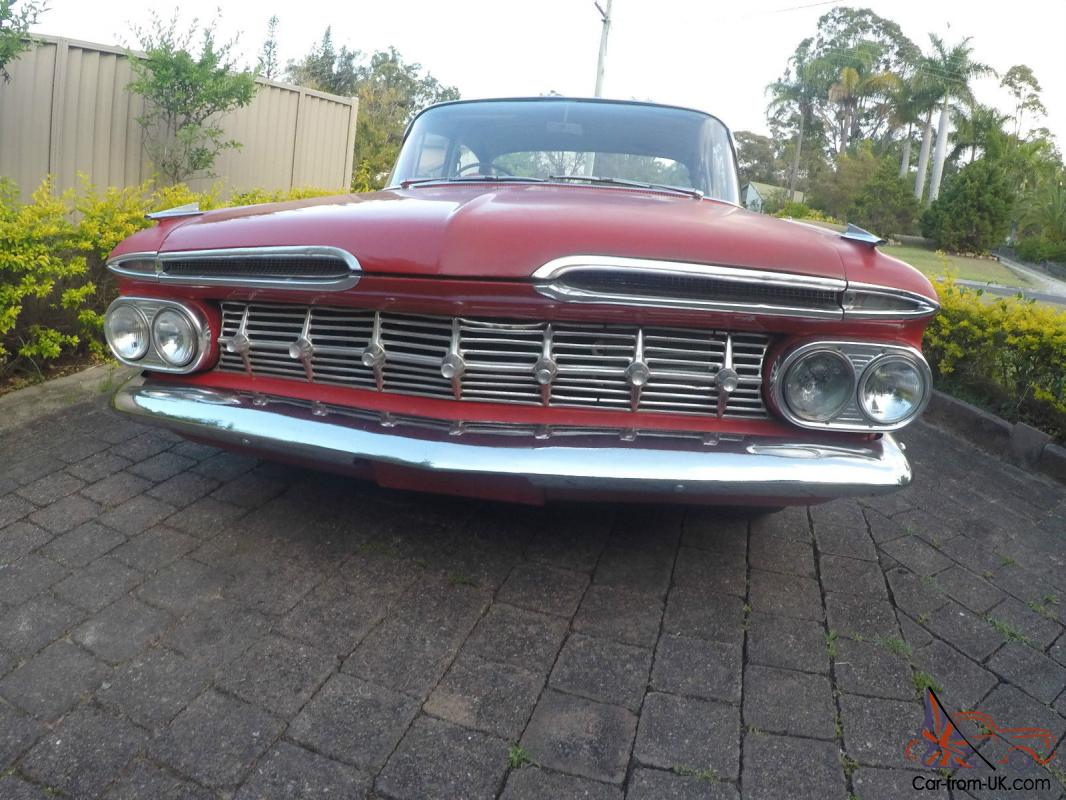 1959 chevrolet belair right hand drive in qld. Black Bedroom Furniture Sets. Home Design Ideas