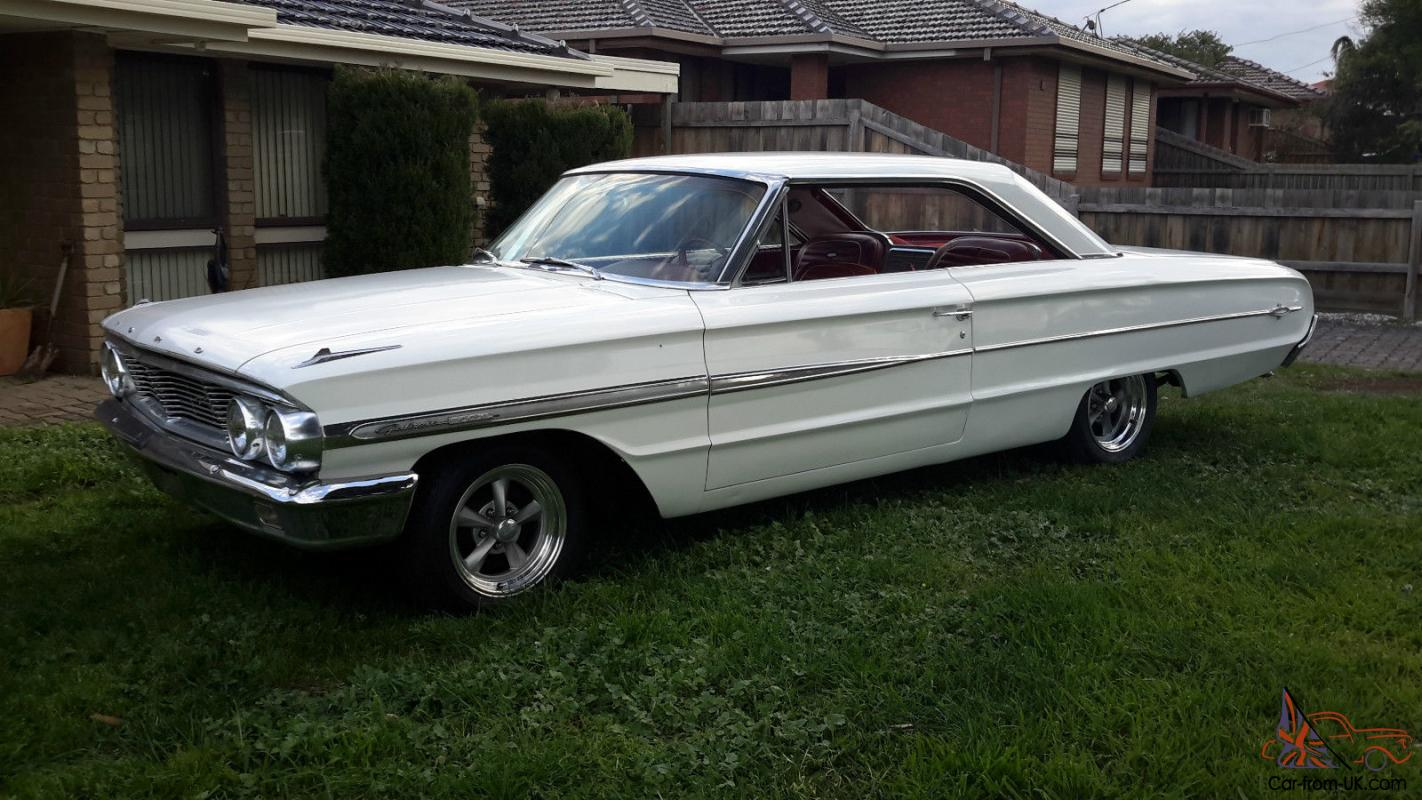 1964 ford galaxie 500 xl 2dr fastback hardtop for sale 64 in vic