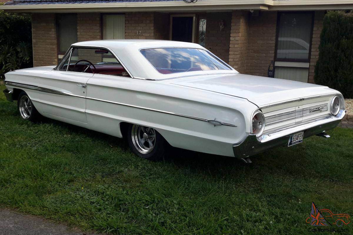 Ford galaxie 500 xl 2dr fastback hardtop for sale 64 in vic