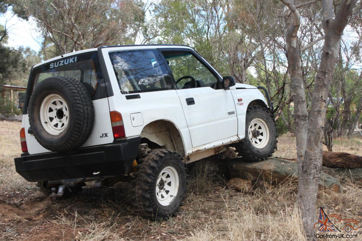 1991 suzuki vitara jx 4x4 hardtop manual 1 6l carb in vic. Black Bedroom Furniture Sets. Home Design Ideas