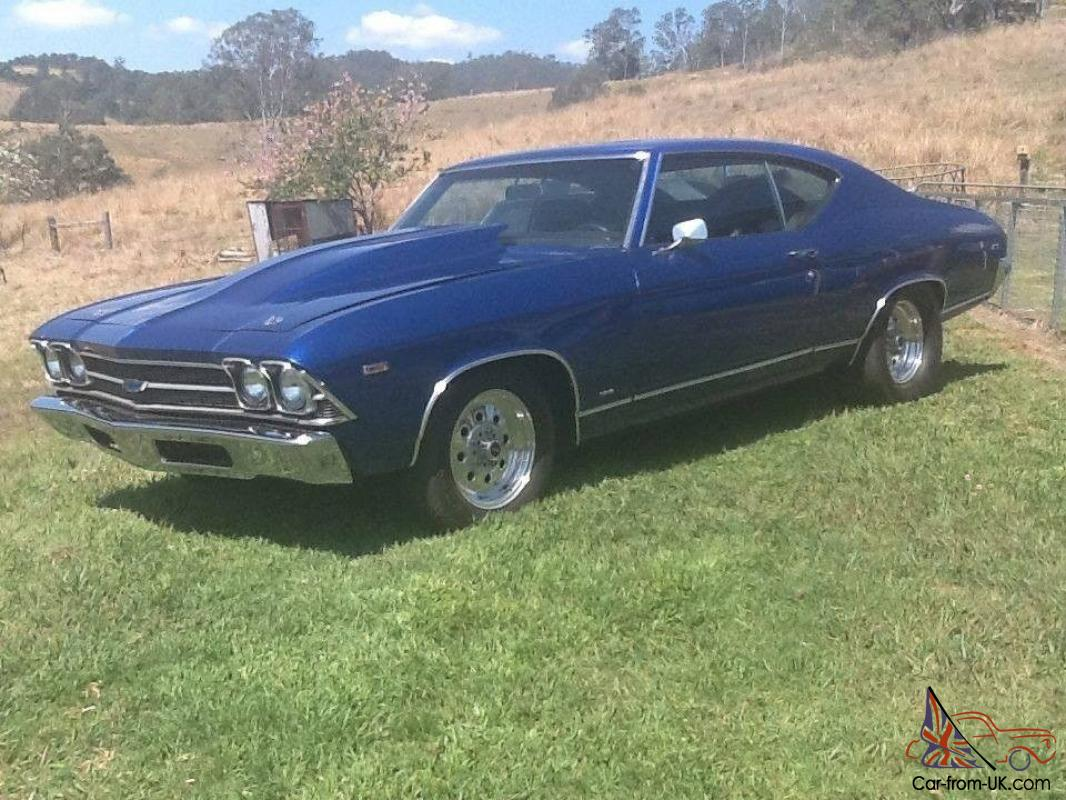 1969 chevrolet malibu ss clone 540 big block. Black Bedroom Furniture Sets. Home Design Ideas