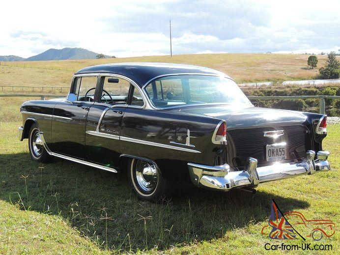 1955 CHEVROLET BELAIR 283/V8 MANUAL 4-DOOR...CHEAP