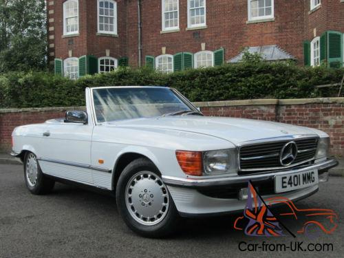 1987 mercedes benz 300sl r107 model convertible 2 2 for Mercedes benz 2 seater