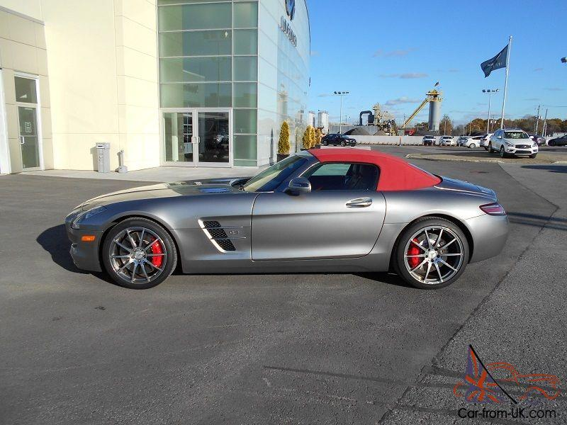 Mercedes benz sls amg roadster for Mercedes benz sls amg convertible for sale