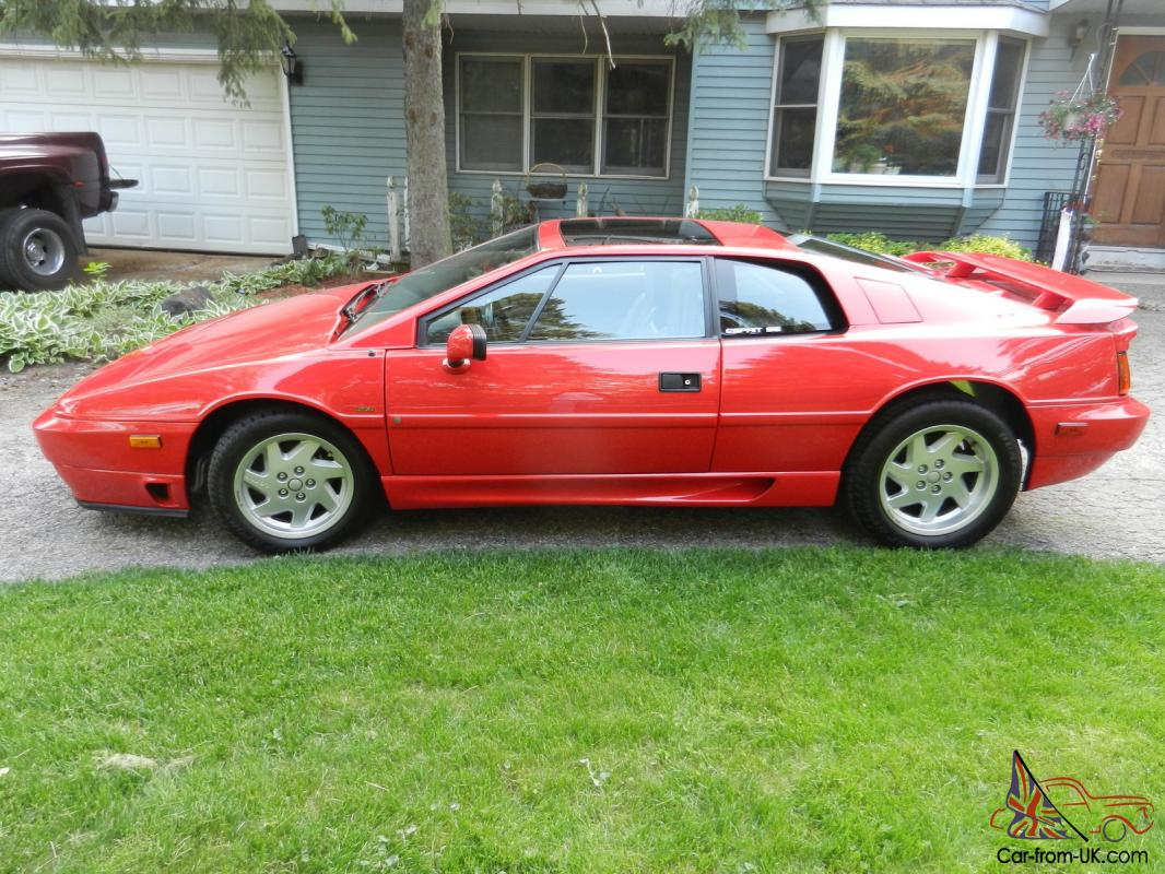 1989 Lotus Esprit Se Low Miles 24k Show Car Super Clean