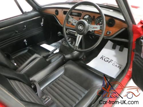 a michelotti penned ex concours triumph gt6 mk2 with just 22 192 miles. Black Bedroom Furniture Sets. Home Design Ideas