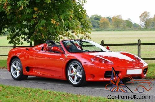 2005 ferrari 360 modena spider. Black Bedroom Furniture Sets. Home Design Ideas