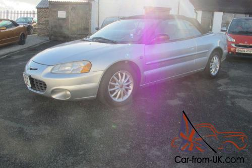 2001 chrysler sebring convertible 2 7 litre v6 auto 68 000 miles. Black Bedroom Furniture Sets. Home Design Ideas
