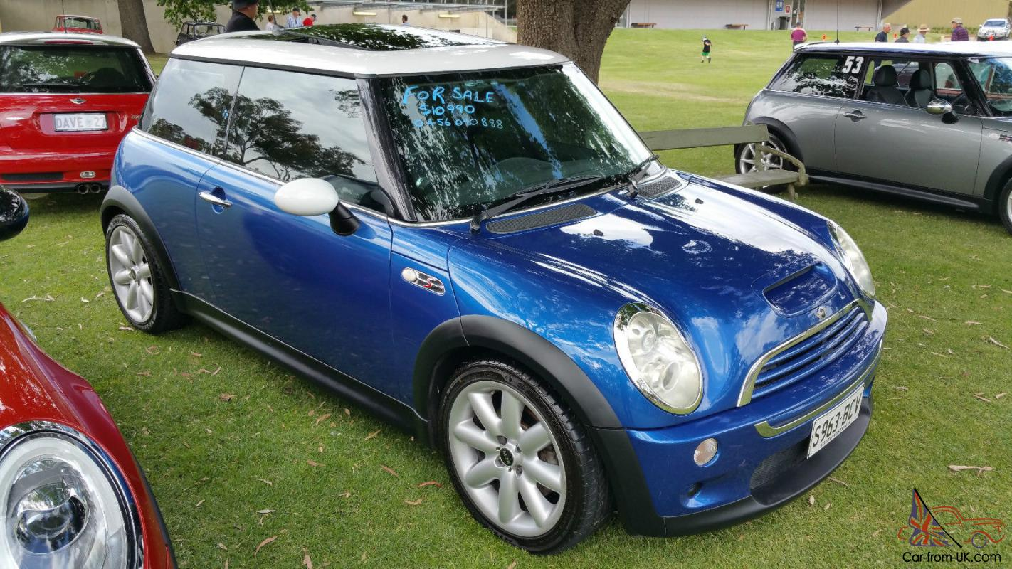 mini cooper s chilli 2005 manual in excellent condition in sa. Black Bedroom Furniture Sets. Home Design Ideas