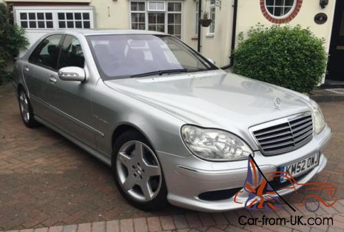 2002 Mercedes Benz S55 Amg Kompressor Long Wheelbase