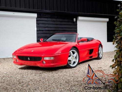 1997 ferrari f355 spider. Black Bedroom Furniture Sets. Home Design Ideas