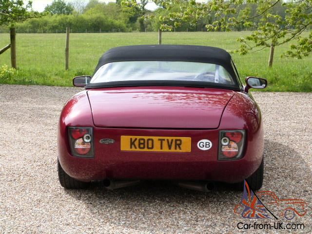 1992 tvr griffith 400 awesome performance just 41000 miles. Black Bedroom Furniture Sets. Home Design Ideas
