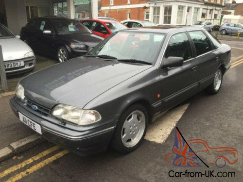 1992 ford granada scorpio 2 9 24v cosworth same owner. Black Bedroom Furniture Sets. Home Design Ideas