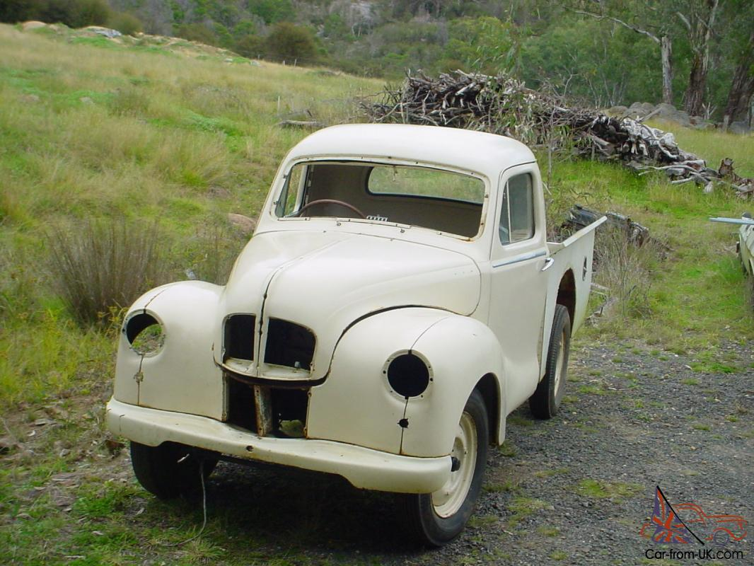 Austin A40 Devons ONE UTE AND ONE Sedan In VIC