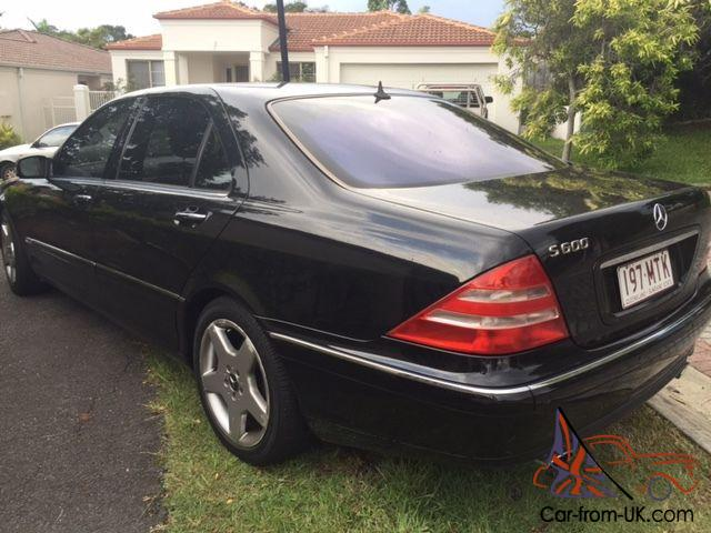2000 mercedes benz s600 l 5 8l very rare stylish motoring for Mercedes benz s600 ebay