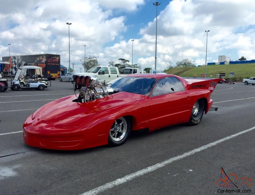 Trans AM Promod Supercharged Outlaws Drag Race Show CAR in VIC