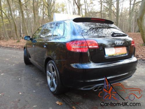 audi a3 sportback tdi s line special edition black. Black Bedroom Furniture Sets. Home Design Ideas