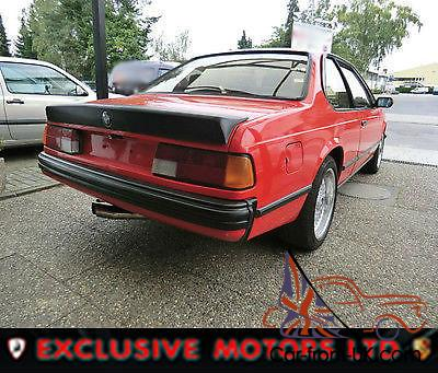 Bmw 635 Csi Lhd Left Hand Drive