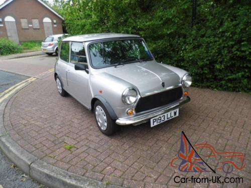 1996 Classic Rover Mini Equinox Limited Edition In Silver Only 16000