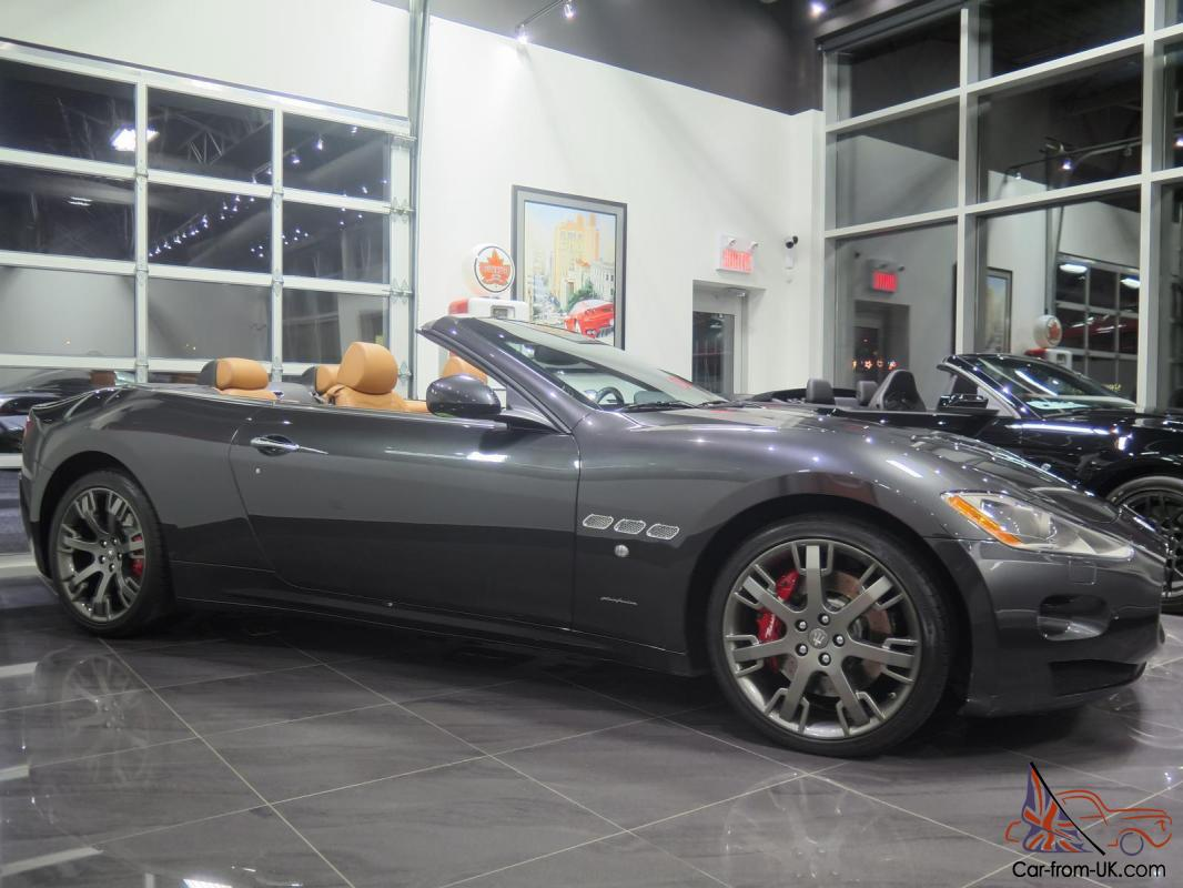 maserati gran turismo convertible 2 door. Black Bedroom Furniture Sets. Home Design Ideas