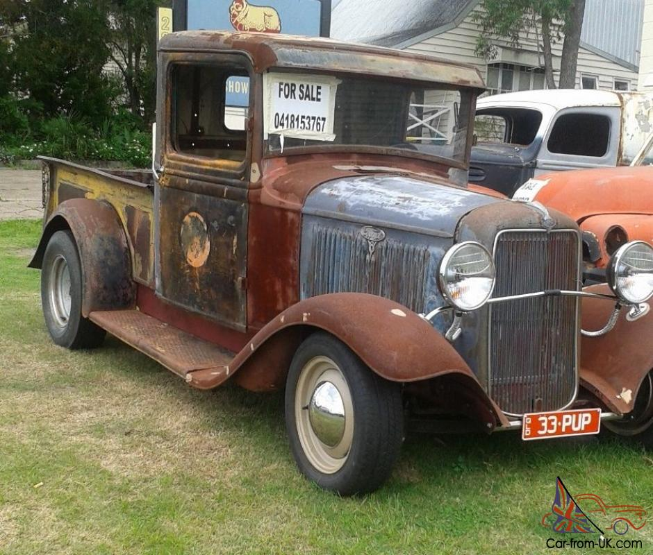 1934 ford pickup classic in qld. Black Bedroom Furniture Sets. Home Design Ideas