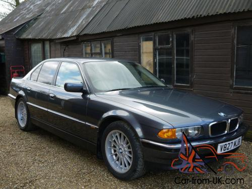 bmw 728i e38 saloon just 31k miles from new. Black Bedroom Furniture Sets. Home Design Ideas