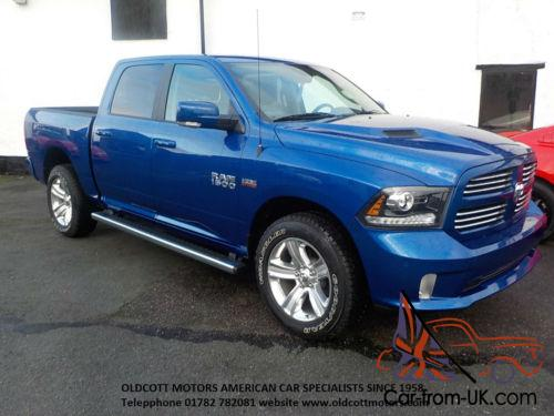 2016 dodge ram 1500 crew cab sport 5 7 litre hemi automatic 4x4 brand new. Black Bedroom Furniture Sets. Home Design Ideas