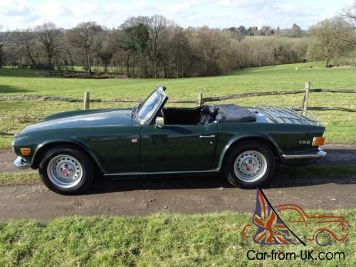 Very Early And Original Triumph Tr6 Cp25low Ownershiplovely