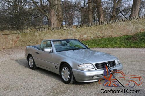 mercedes benz sl 320 r129 auto silver 1 owner immaculate. Black Bedroom Furniture Sets. Home Design Ideas