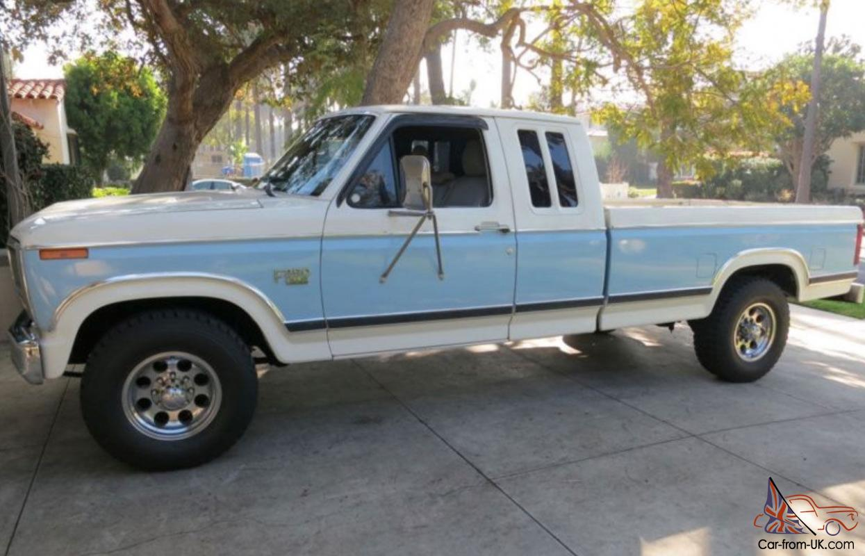 1984 amazing ford f250 xlt 6 9l turbo diesel extended cab newly imported in qld. Black Bedroom Furniture Sets. Home Design Ideas